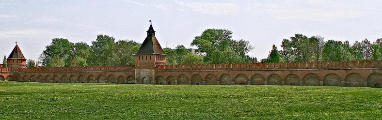 Восточная стена  Тульского Кремля